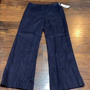 Ralph Lauren navy lined lined dress pants nwt 8